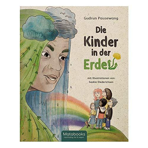 Matabooks, Kinderbuch aus Graspapier, Die Kinder in der Erde