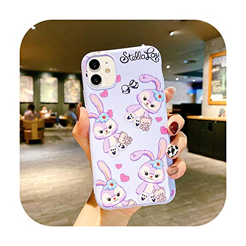 Funda de silicona para iPhone 12 Pro Max Mini con diseño de animales de dibujos animados para iPhone 11 SE 2020 7 8 XR X XS 6 6S Plus - 26 - para iPhone 12