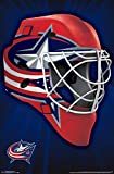 Trends International Columbus Blue Jackets Mask Wall Poster 22.375' x 34'