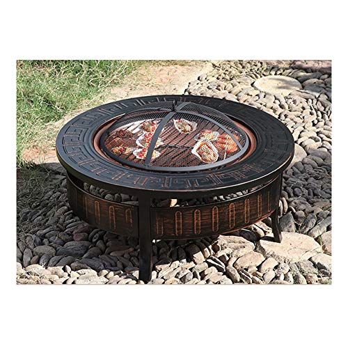Find Bargain Fire Pit J Outdoor Bowl Household Charcoal Heating Brazier Stove Multifunctional Charco...