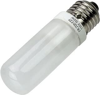 Fotodiox JDD Type 150w 110v E26/E27 (Standard Edison Screw) Frosted Halogen Light Bulb, Universal Replacement Modeling Bulb for Photo Studio Strobe Lighting