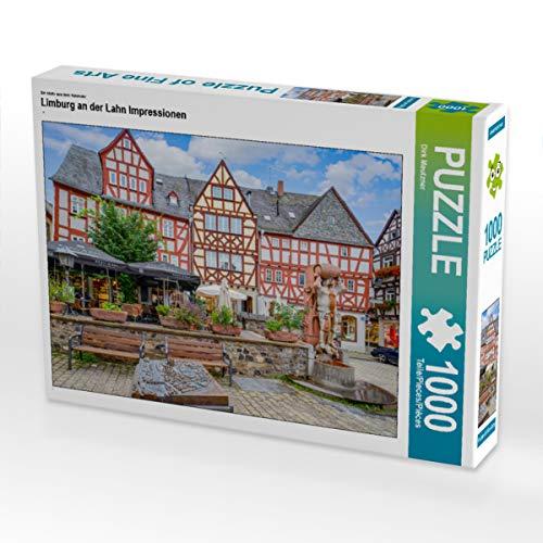 CALVENDO Puzzle Limburg an der Lahn Impressionen 1000 Teile Lege-Größe 64 x 48 cm Foto-Puzzle Bild von Dirk Meutzner