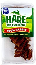 Hare Of The Dog 100% Rabbit Jerky For Small Dogs - All Natural, Grain Free Dog Treat, Training Treat, Limited Ingredients, Usa Made