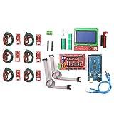 KKmoon CNC 3D Drucker Controller Kit mit RAMPS 1.4 Controller 2560 Steuerkarte A4988 Schrittmotortreiber LCD 12864 Graphic Smart Display Controller