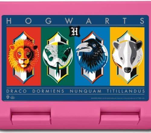 rose Harry Potter Maisons Poudlard Drapeaux Bo/îte /à go/ûter