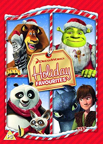 Dreamworks Holiday Favourites (Shrek the Halls, Merry Madagascar, Po's Winter Wonderland, Gift of the Night Fury) [DVD] [2018]