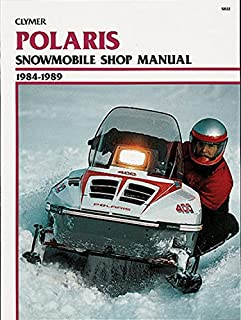 Clymer Polaris Snowmobile Shop Manual 1984-1989: Service, Repair, Maintenance (Clymer Manuals: Motorcycle Repair)