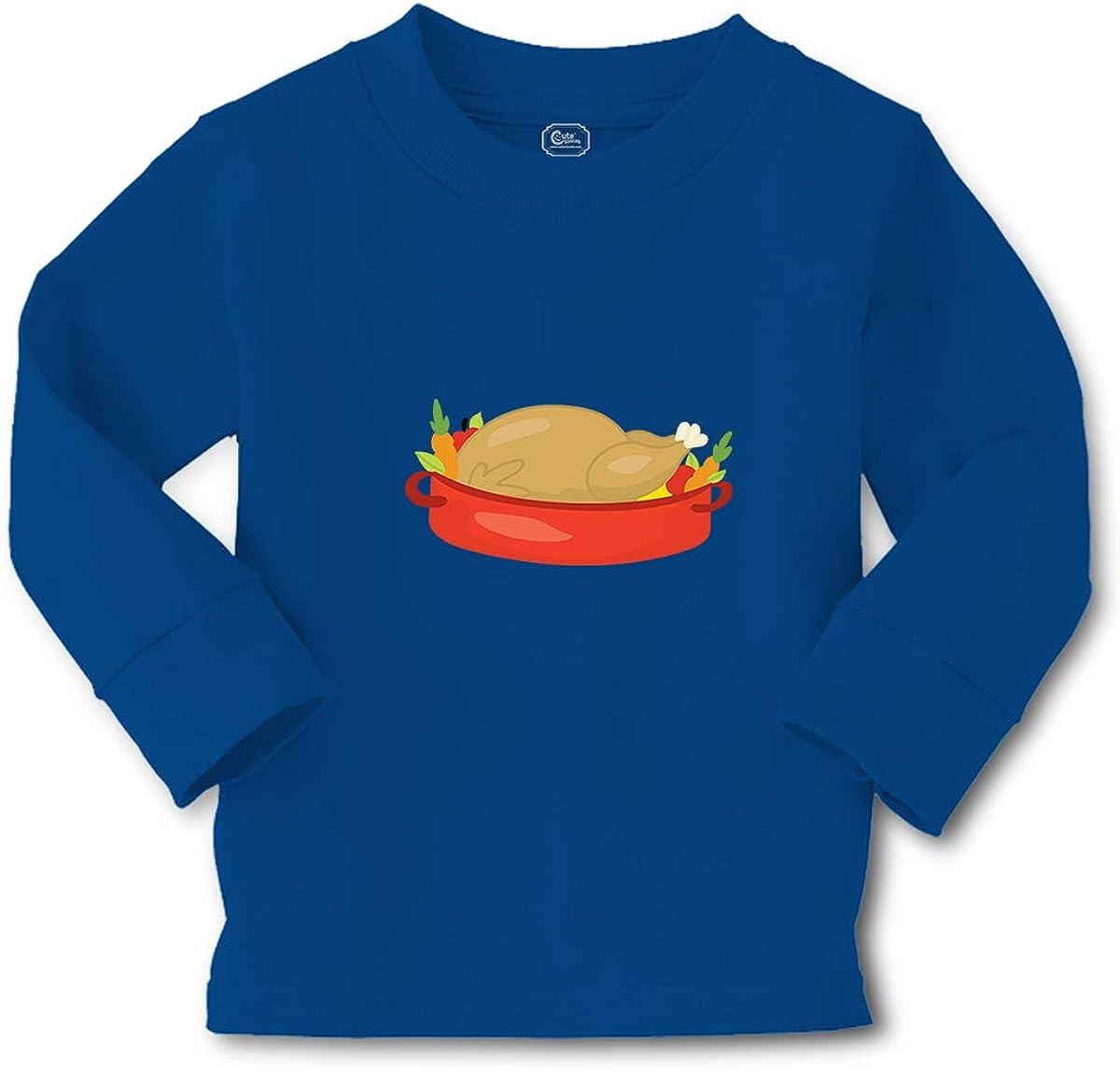 Cute Rascals Kids Long Sleeve T Shirt Thanksgiving Turkey Cotton Boy & Girl Clothes