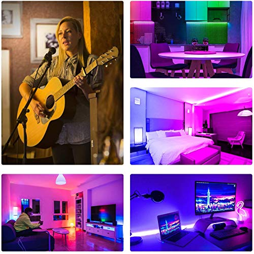 Led Strip Lights 32.8 Feet,ehomful Color Changing 44 Keys Remote Control Led Lights for Bedroom,Room,Kitchen and Party Decorations 5
