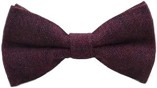 Children/'s Kids Boys Vintage Intense Pink Elasticated Wool Bow Tie UK.
