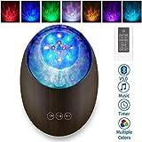 [2020 Neu]Projektor Lampe Bluetooth LED Farbwechsel Nachtlichter mit Remote Timer