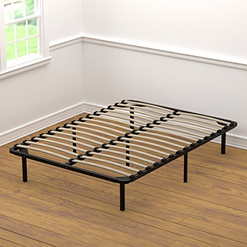 Handy Living Platform Bed Frame - Wooden Slat Mattress...