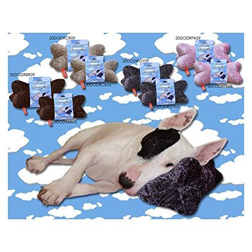 Kopfkissen für Hunde Braun Small