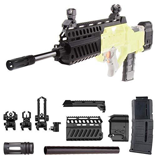 WORKER F10555 No.207 Combo 5 Items DIY Kits for Nerf N-Strike Rayven CS-18 (Magic Style)