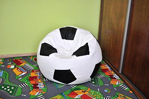 sitzsack, puf, pouff, bean bag 100CM xxxl football, Fußball