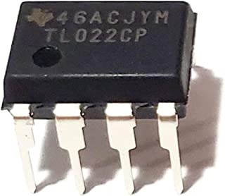 Juried Engineering TL022CP TL022 Very Low Power Consumption Dual Operational Amplifier Op Amp Breadboard-Friendly IC DIP-8...