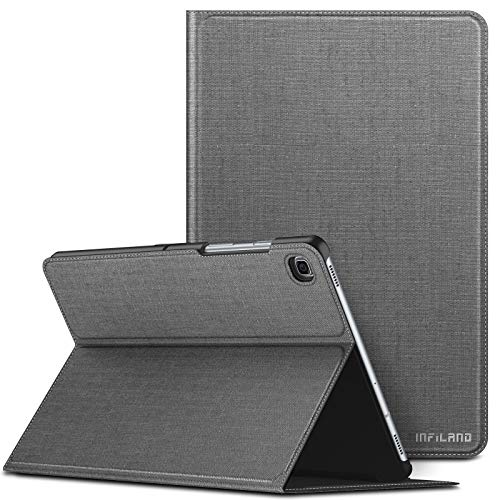 INFILAND Case for Samsung Galaxy Tab S5e, Multi Angles Viewing Front Support Case compatible with Samsung Galaxy Tab S5e 10.5 inch (T720/T725/T727) 2019 Tablet,Auto Sleep/Wake,Gray