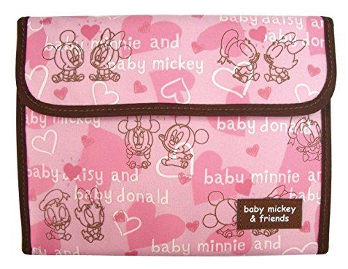 クーザ ジャバラ母子手帳ケース ベビーミッキー フレンズ DMM-2202 1コ入