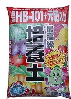 顆粒HB-101+元肥入り最高級培養土 5L(2.5kg) 土