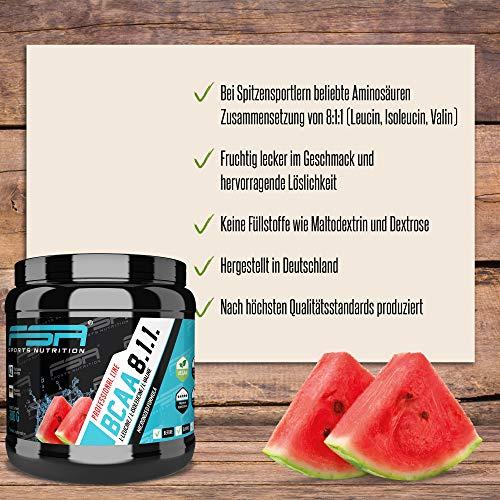 FSA Nutrition BCAA 8:1:1 Vegan-Wassermelone-420g - 2