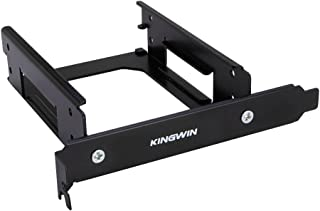 """Kingwin SSD Mounting Bracket for PCI, 2 x 2.5 Inch SSD to PCI Internal Hard Drive Mounting Kit. Convert Any 2 x 2.5"""" SSD Into One PCI Slot, Mounting Screws Included, Quick & Easy Installation"""