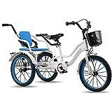 ZJZ Triciclo Niños Bicicletas de Tres Ruedas Niños Niñas Niños Niño Bici de 3 Ruedas Bicicleta