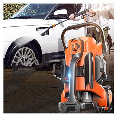 Hogedrukreiniger met accessoires 170 bar 2100W 9L / min vermogen wasmachine groen draagbare Jet wasmachine elektrisch drukauto-reinigingsmiddel voor huis/tuin/terras/auto, A dljyy D