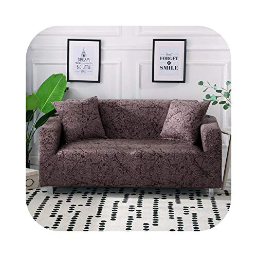 xiao S 2021 1/2/3/4 Seater Stretch Sofa Cover Sectional Elastic Sofa Slipcover for Living Room Couch Cover L Shape Corner Armchair Cover-Maka-2seats 145-185cm