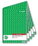 Sigel moduli–rapporte A4 autoscrivente, 2 x 40 pagine (5x confezione) 5 pezzi...