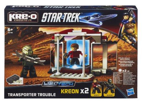 KRE-O A3140E24 - Juego de teletransportador y Figuras de Star Trek