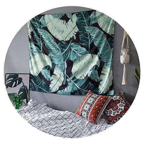 ダイレクトマーケティングの背景布タペストリーINSハング布のレイアウト部屋の壁の布北欧のベッドサイドの布のB&Bの装飾寮のタペストリー,バナナリーフ200X150CM横型3mライトファインポリエステル,従来の