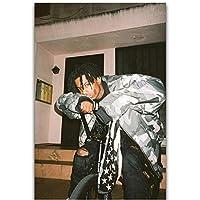 Dubdubd Playboicartiヒップホップラップ ミュージックシンガースターポスターアートキャンバス絵画写真リビングルーム家の装飾ギフト-50X75Cmフレームなし1個