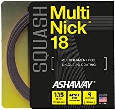 ASHAWAY MultiNick 18 Squash String (1 Set)