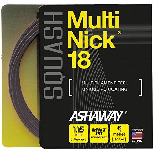 ASHAWAY MultiNick 18 - Juego de cuerdas de squash