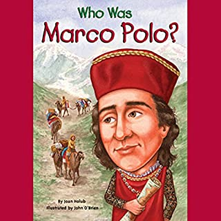 Who Was Marco Polo? audiobook cover art
