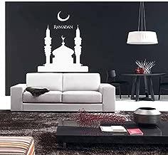 Wall Decal Sticker Muslin Decal Arabic Quote Eid Murabak Ramadan Kareem Mask Islam Religion 1742t