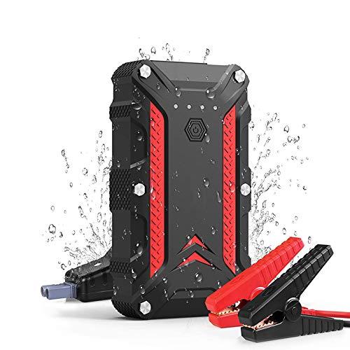 Mago 1000 A autostarthulp 12000 mAh powerbank met USB-poort intelligente klemmen en LED-zaklamp voor benzine diesel van 12 V