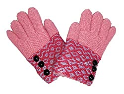 NPRC Unisex Kids Hand Gloves(Multicolor_2-4 Years)