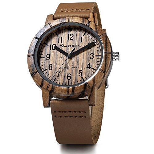 KUXIEN Herren Uhr Chronograph Quartz mit Sonstige Materialien Armband