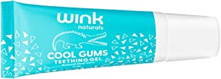 Wink Naturals Baby Teething Relief for Infants and Kids, Cooling, Soothing Natural Gel for Sore Gums and Ot...