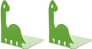 STOBOK 1 Paire Enfants Serre- Livres Dinosaure Serre- Livres en Métal Réglable Bouchon Livre Livre Titulaire Magazine Fich...