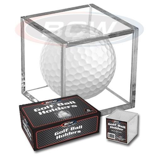 BCW Golf Ball Square – Holder & Display Case (Box of 6 Cubes)
