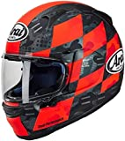 ARAI - Casco de moto integral Profile V Patch - Rojo/Negro (L)