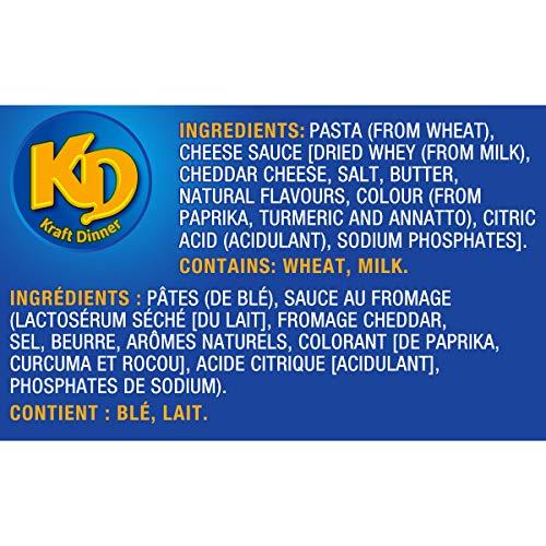 4 Boîte 225g de Kraft Dinner Original - Macaroni au Fromage - 6