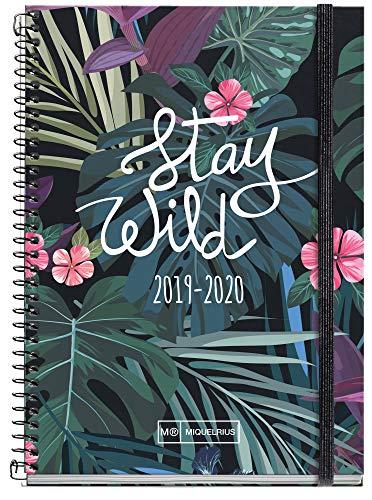 Miquelrius agenda escolar con espiral 2019 2020 semana vista...