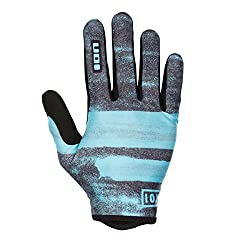 Ion Dude MX DH FR cycling gloves long blue / gray 2018: size: M