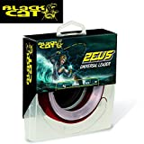 Black Cat Zeus Universal Leader Sedal de Pesca Casi Indestructible, Rojo, 1,10 mm
