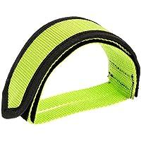 VANKER Durable 1pieza adhesivo correa Pedal Toe Clip cinturón para fijo Gear Fixie BMX bicicleta, Verde