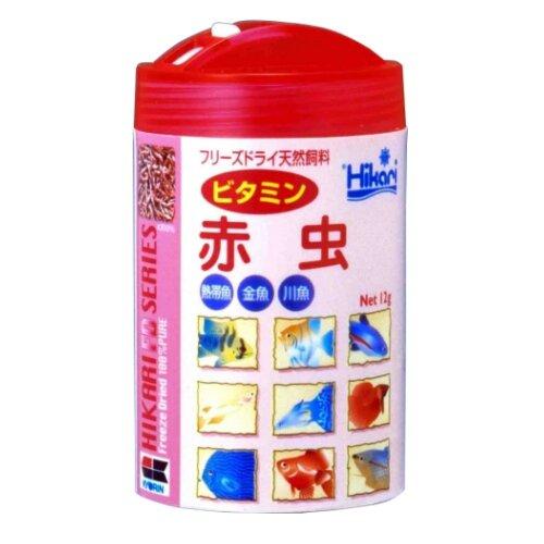 ヒカリ (Hikari) ひかりFD ビタミン赤虫 12グラム (x 1)