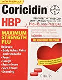 Coricidin Hbp Maximum Strength Flu, 10 Count